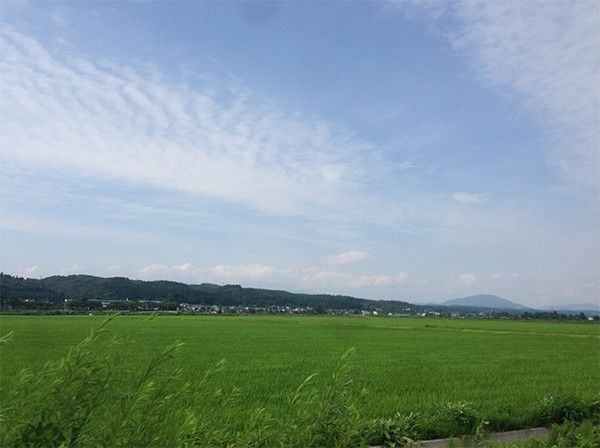 秋田工場周辺の風景